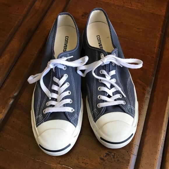Converse Jack Purcell Size 3 Denim Blue